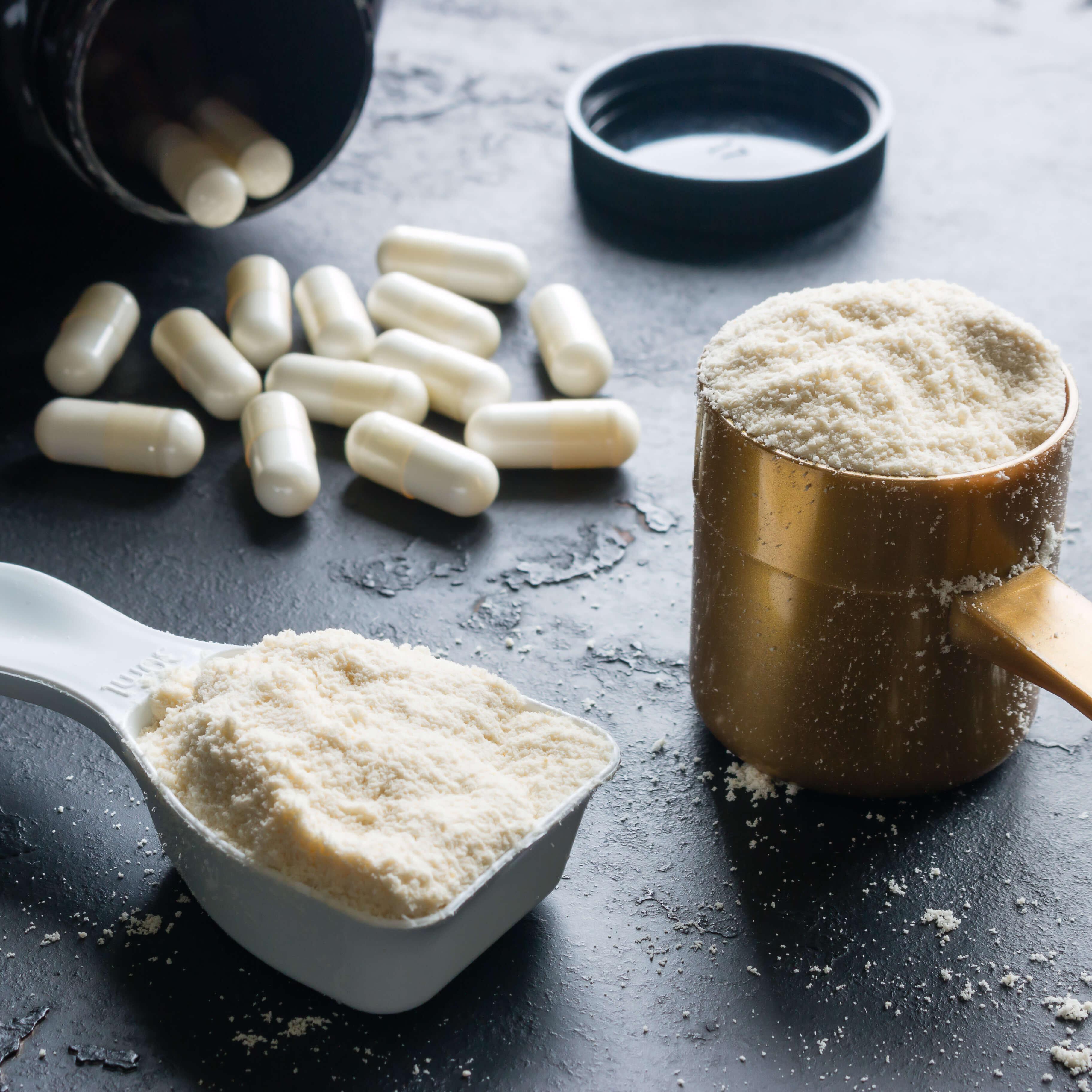 In Mischung oder einzeln bieten wir diverse Aminosäuren in Kleinmengen an